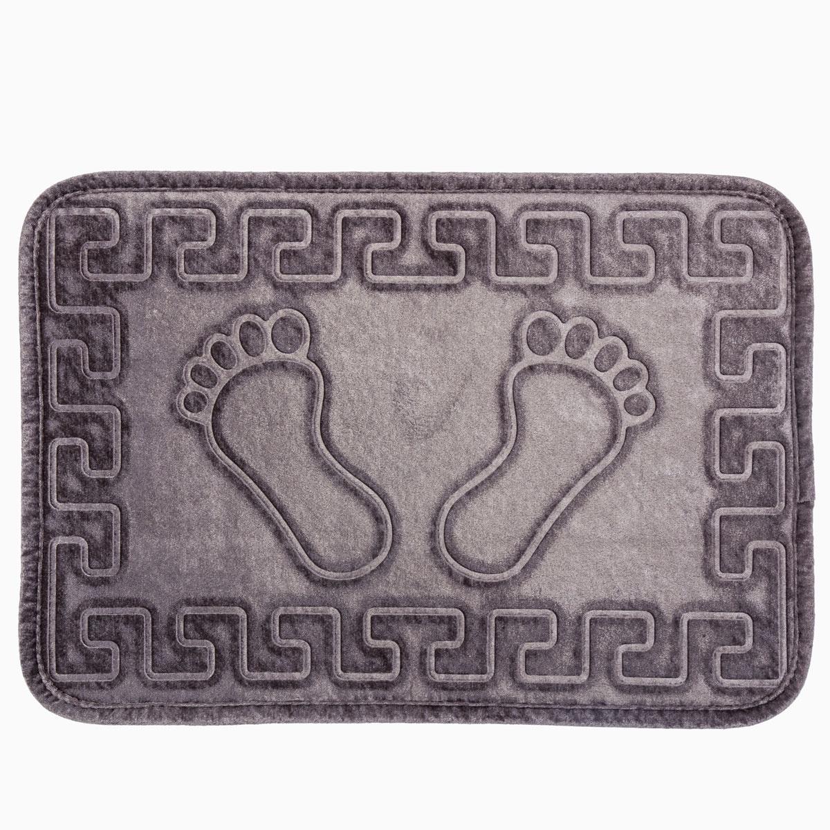 Коврик для ванной Arya home collection Dayna, серый dayna rothman lead generation for dummies
