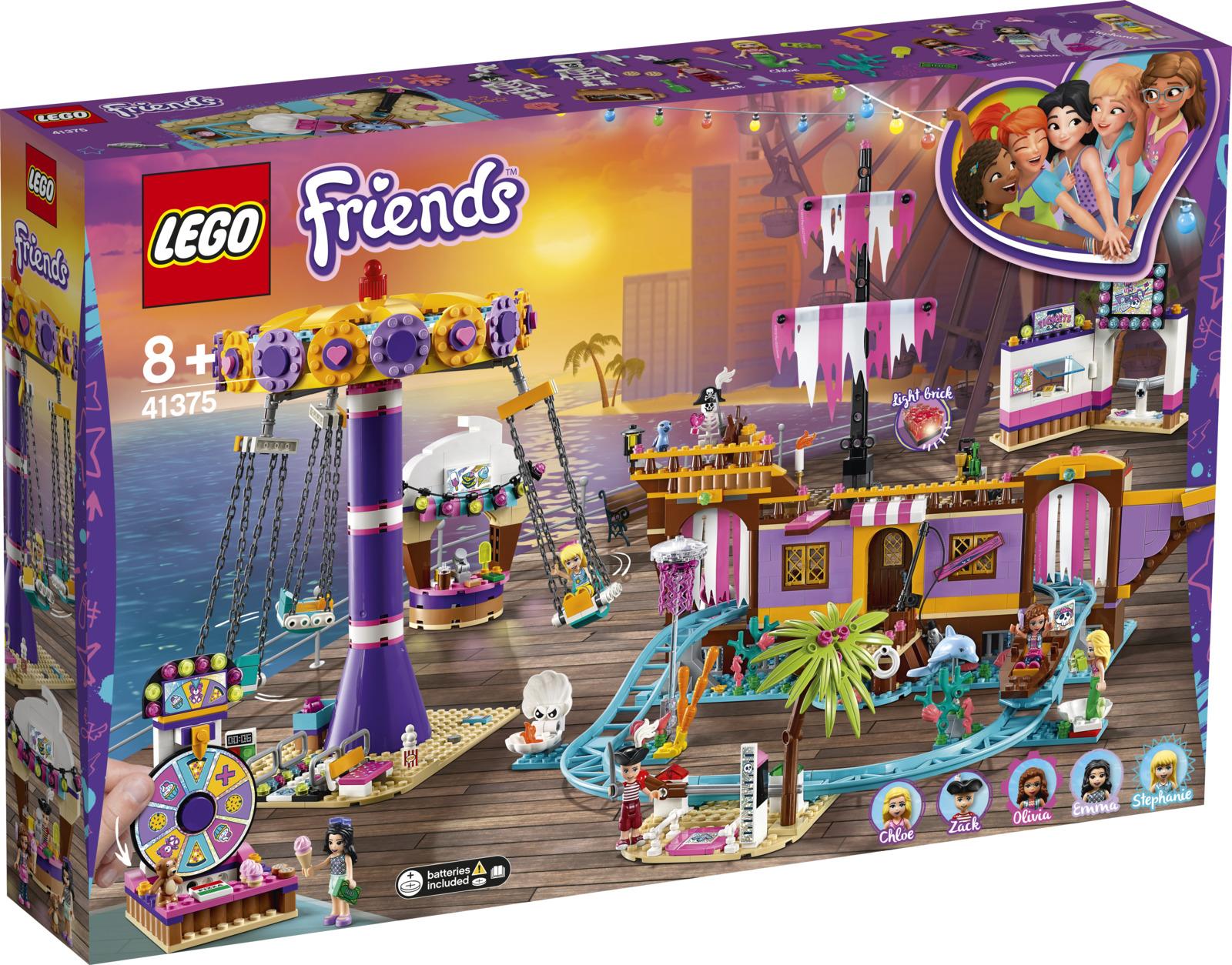 LEGO Friends 41375 Прибрежный парк развлечений Конструктор конструктор friends lego lego mp002xg00jt9