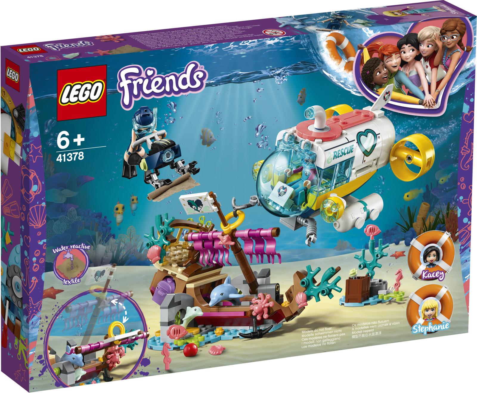 LEGO Friends 41378 Спасение дельфинов Конструктор lego lego elves спасение королевы драконов page 7