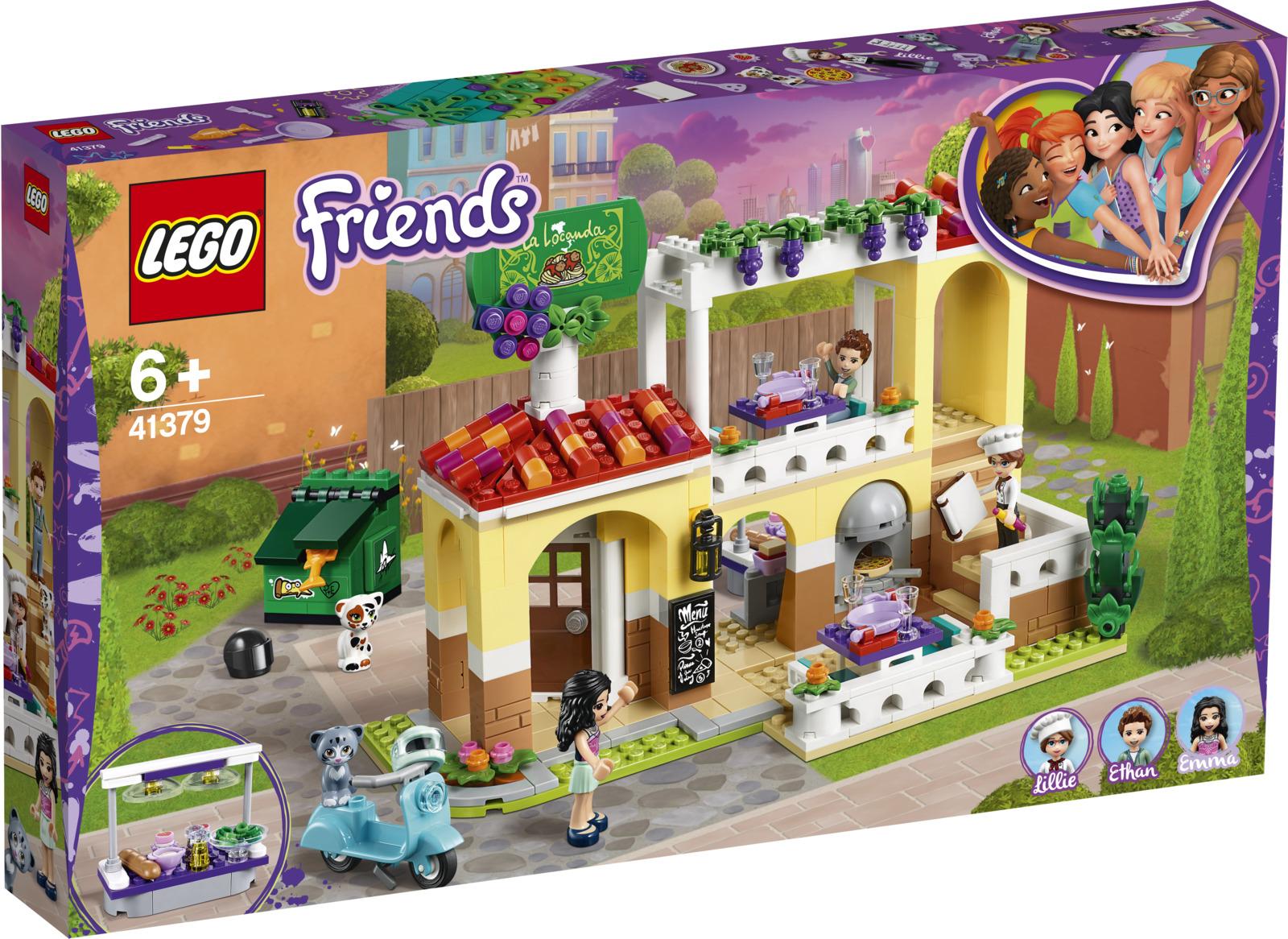 LEGO Friends 41379 Ресторан Хартлейк Сити Конструктор конструктор friends lego lego mp002xg00jt9