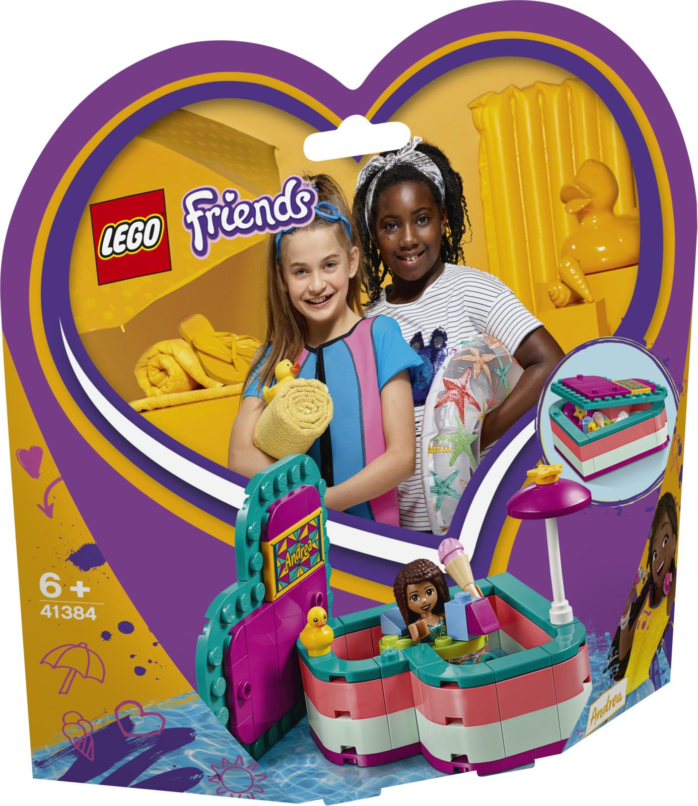 LEGO Friends 41384 Летняя шкатулка-сердечко для Андреа Конструктор lego friends 41341 комната андреа конструктор