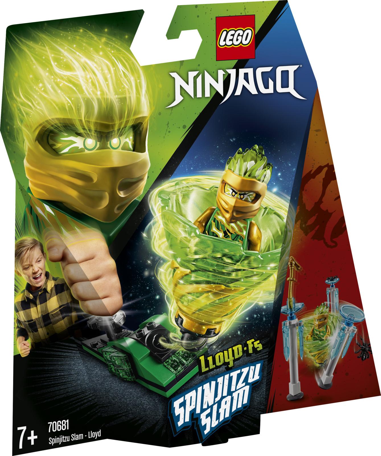 LEGO Ninjago 70681 Бой мастеров кружитцу — Ллойд Конструктор
