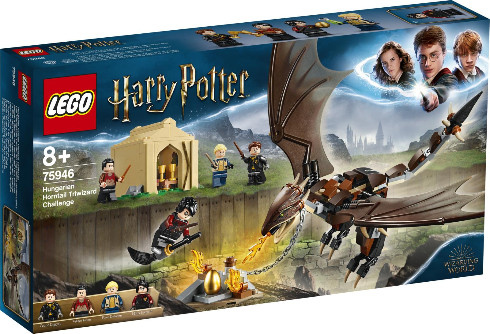 LEGO Harry Potter 75946 Турнир трёх волшебников: венгерская хвосторога Конструктор