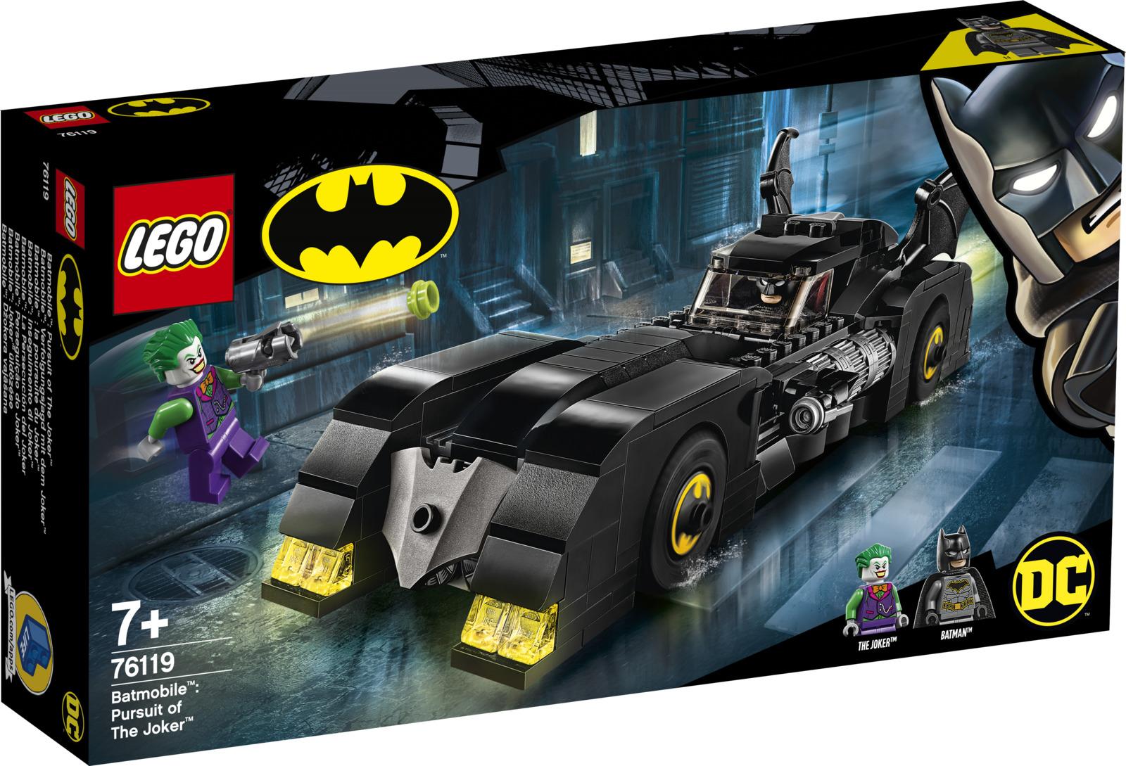 LEGO Super Heroes 76119 Бэтмобиль: Погоня за Джокером Конструктор