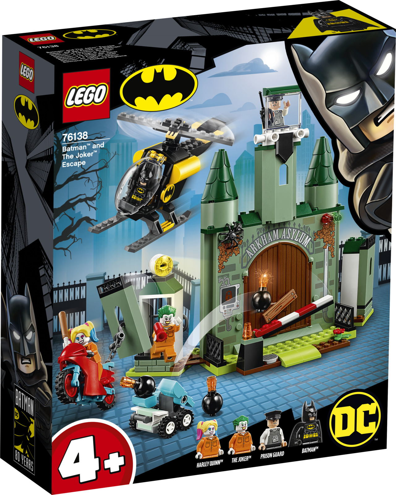 LEGO Super Heroes 76138 Бэтмен и побег Джокера Конструктор lego movie бэтмен лоурайдер джокера