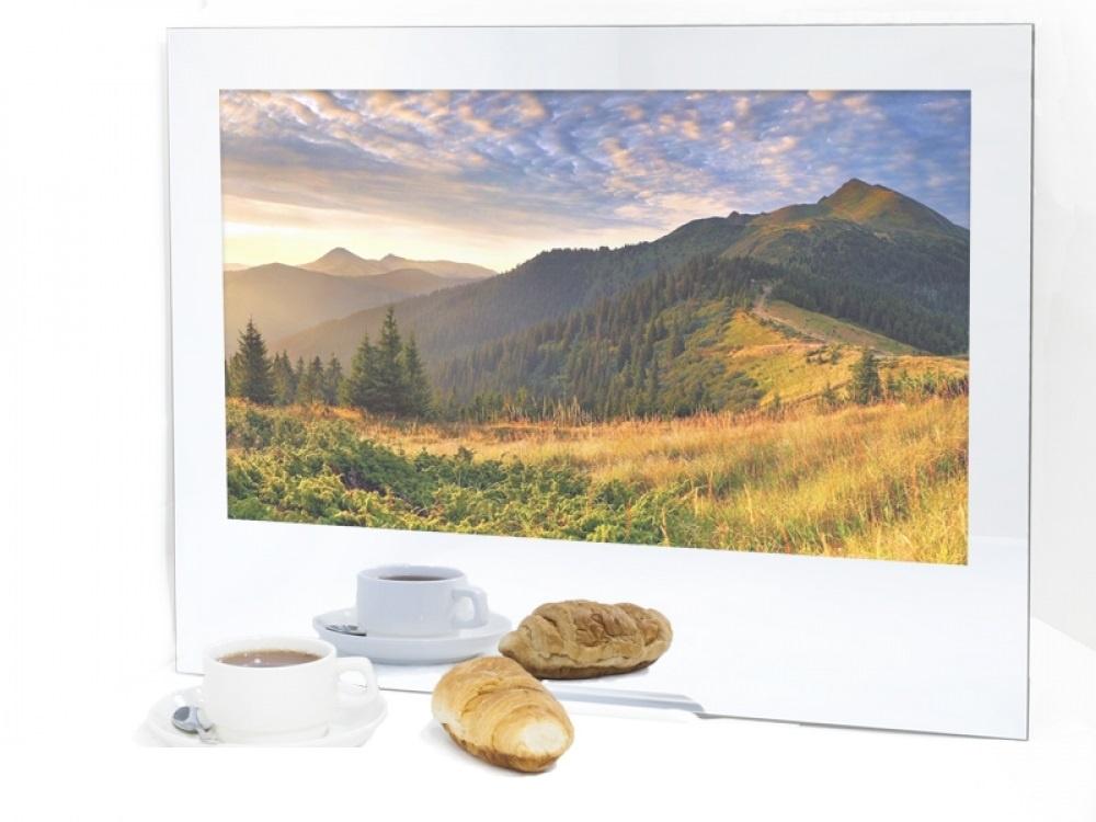 Телевизор AVEL AVS240K (Mirror) телевизор для кухни