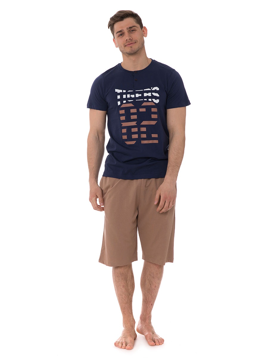 Домашний комплект футболки с приколом для мужчин