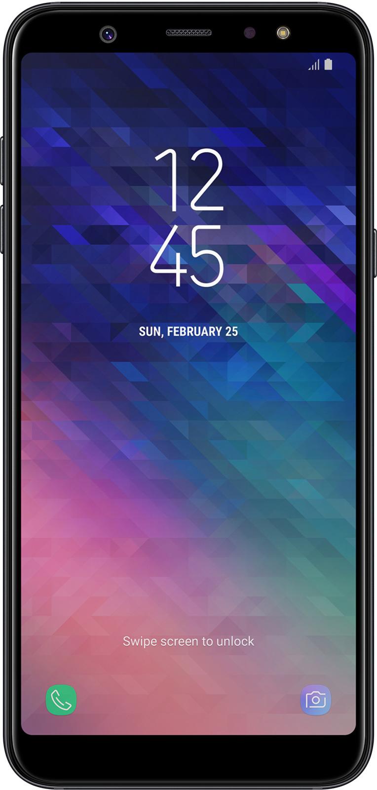 Смартфон Samsung Galaxy A6+ 3/32GB black смартфон samsung galaxy a6 3 32gb blue