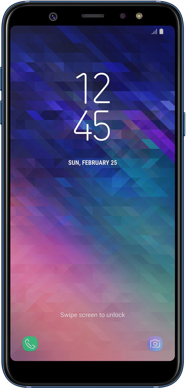 Смартфон Samsung Galaxy A6+ 3/32GB blue смартфон samsung galaxy a6 3 32gb blue