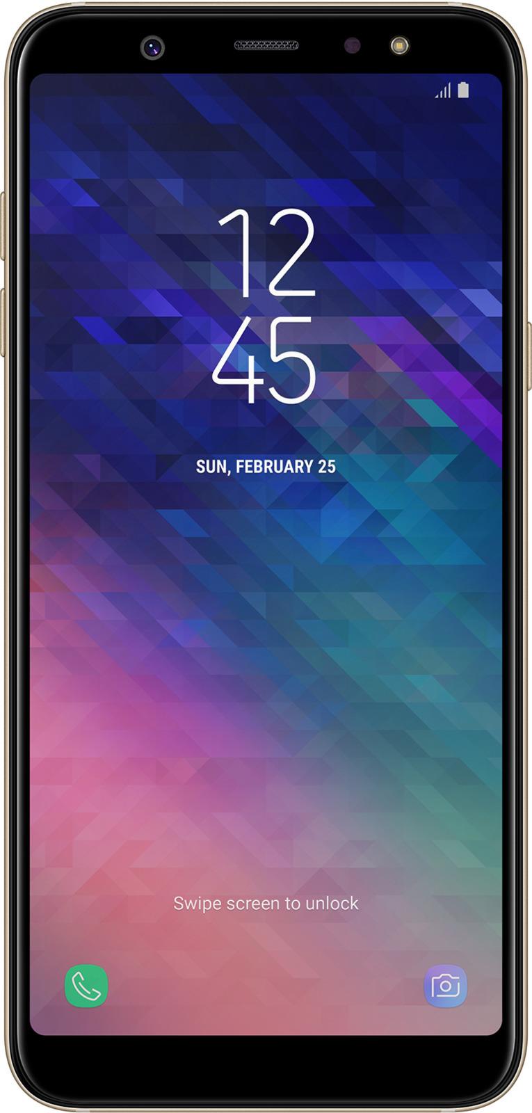 Смартфон Samsung Galaxy A6+ 3/32GB, золотистый цена 2017