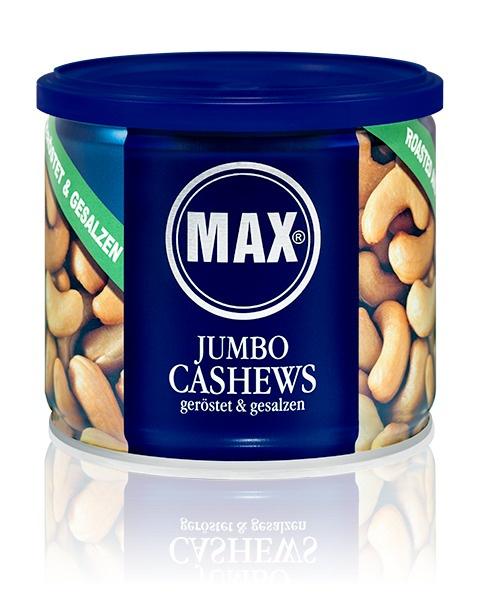 Орехи MAX Kiene Кешью, обжаренный соленый, 150 г витамины daily max