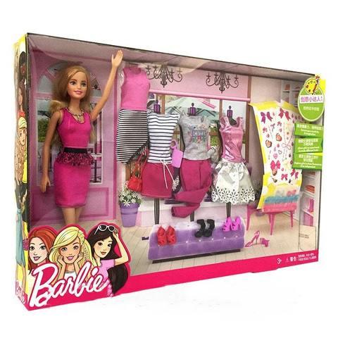 Кукла Mattel Набор Барби 5 модных стилей