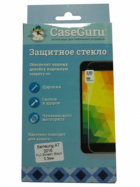 Фото - Защитное стекло Samsung Galaxy A7 (2016 г. черная рамка), черный защитное стекло samsung galaxy a5 2016 г белая рамка белый