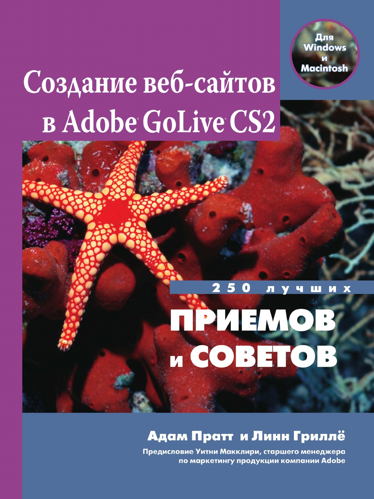 А. Пратт Создание веб-сайтов в Adobe GoLive CS2. 250 лучших приемов и советов александр шапошников adobe indesign 2 0 издателю