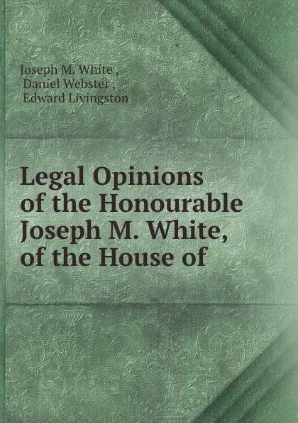 Legal opinions Эта книга — репринт оригинального...