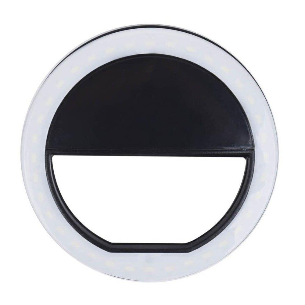 Накамерный осветитель Ring Light v1746, белый