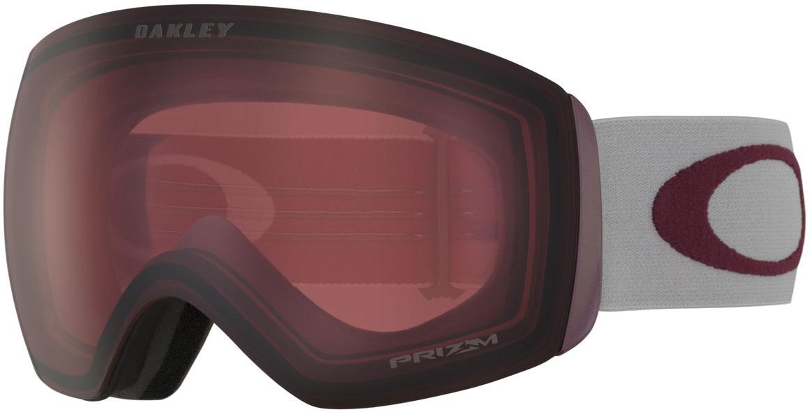 цена на Маска горнолыжная Oakley Flight Deck, цвет: серый, бордовый. 0OO7050-70506500