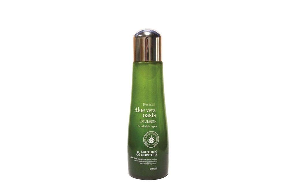 Эмульсия для лица и тела Deoproce с экстрактом алоэ вера Aloe Vera Oasis Emulsion