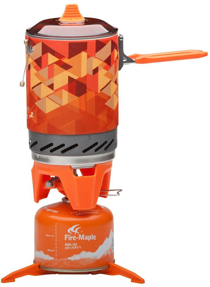 лучшая цена Система приготовления пищи Fire-Maple STAR X2, оранжевый