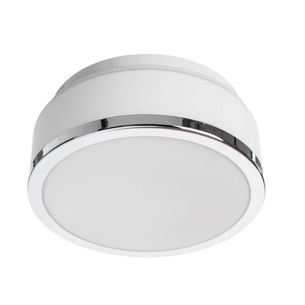 Потолочный светильник Arte Lamp A4440PL-1CC, белый светильник для влажных помещений arte lamp aqua a2944ap 1cc