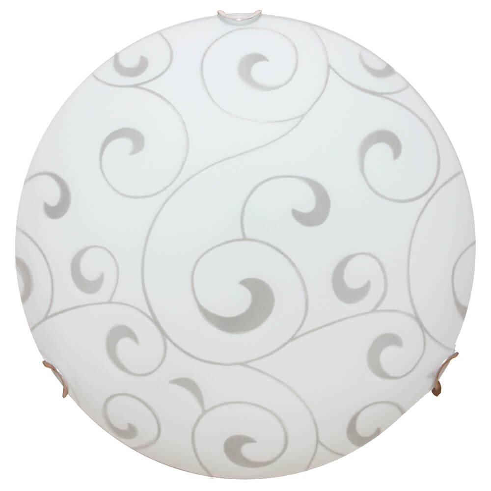 Настенный светильник Arte Lamp A3320PL-2CC, белый arte lamp настенно потолочный светильник arte lamp ornament a3320pl 3cc