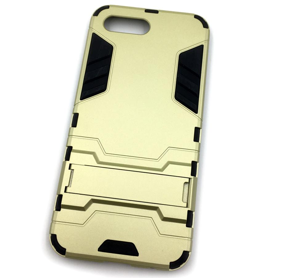 Чехол для сотового телефона Мобильная мода Honor 10 Накладка противоударная с подставкой трансформер, золотой стоимость