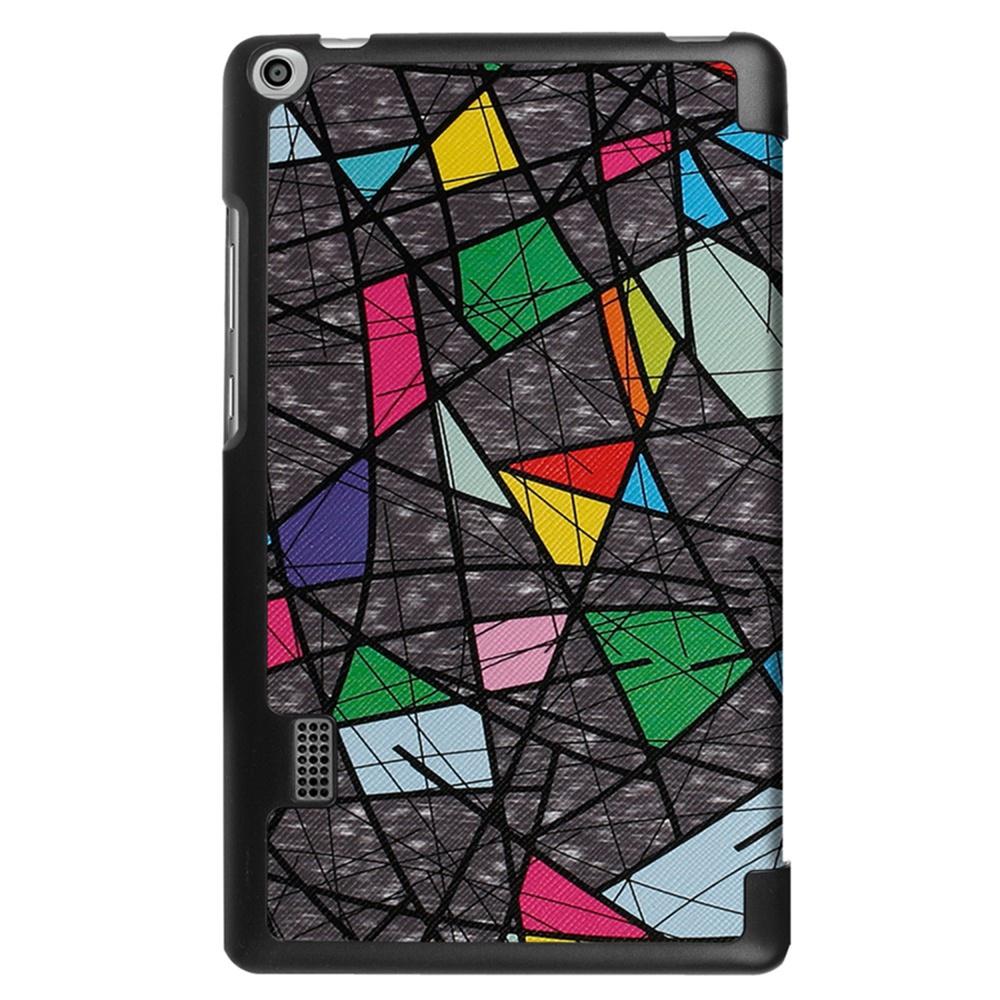Чехол для планшета Мобильная мода Huawei MediaPad T3 7 Чехол-книжка с рисунком