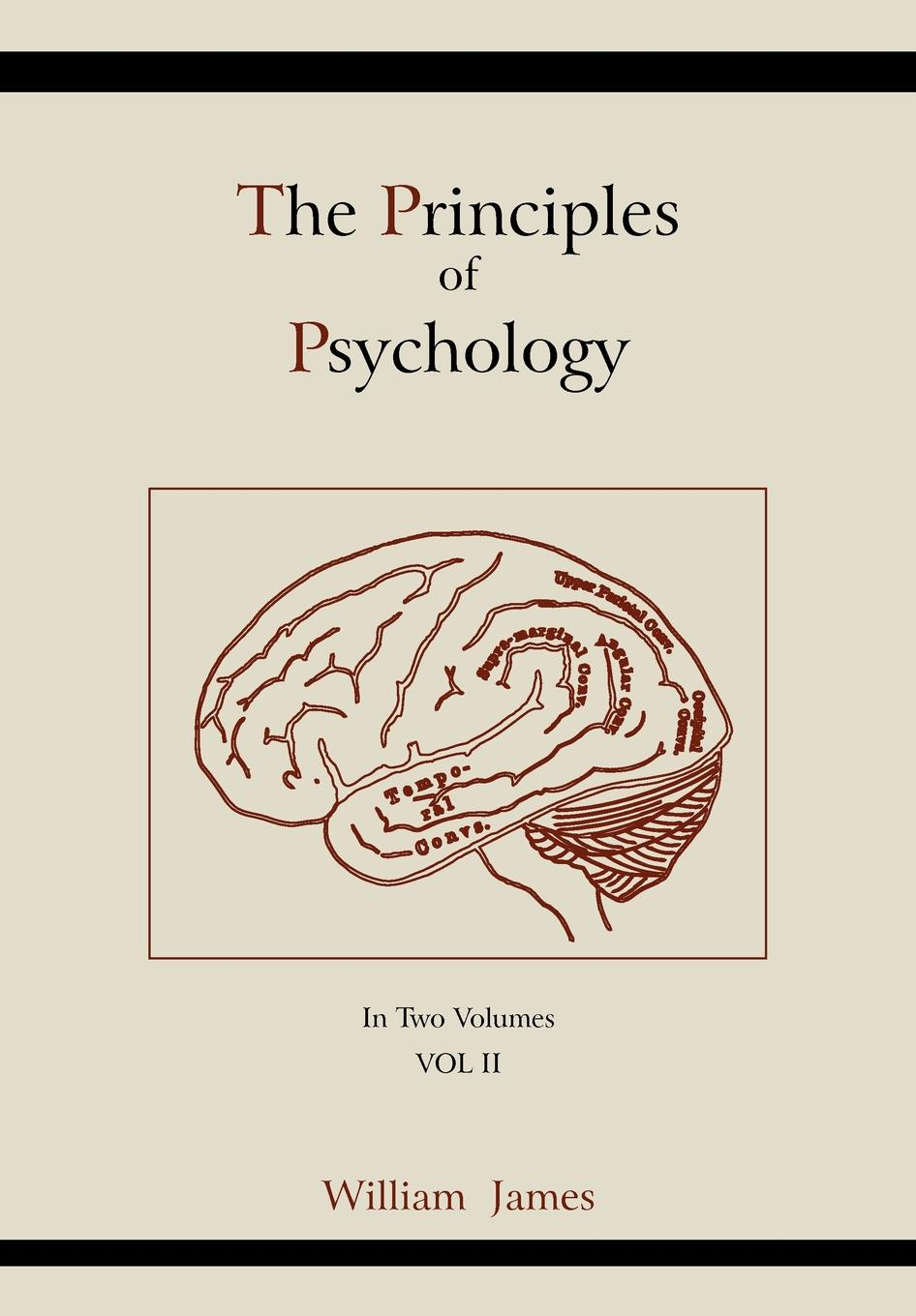 William James The Principles of Psychology (Vol 2) william warburton principles of natural and revealed religion vol 2