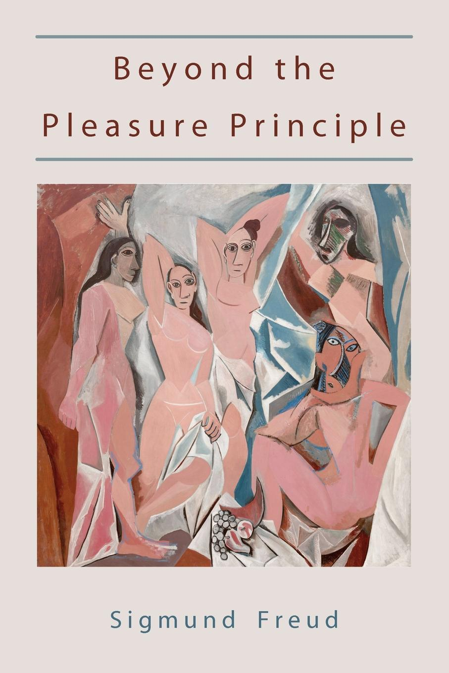 Sigmund Freud Beyond the Pleasure Principle-First Edition text.