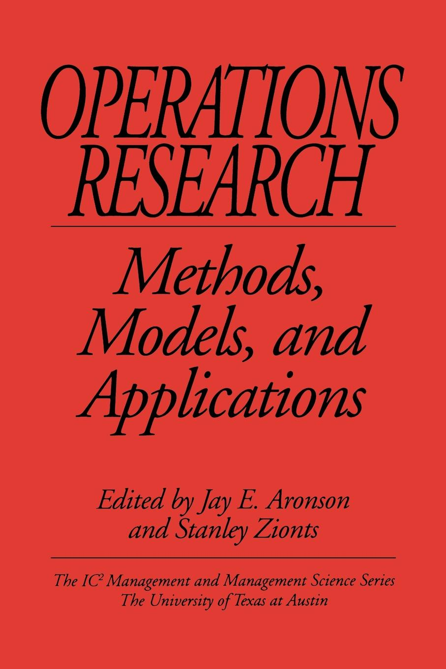 Operations Research. Methods, Models, and Applications цена и фото