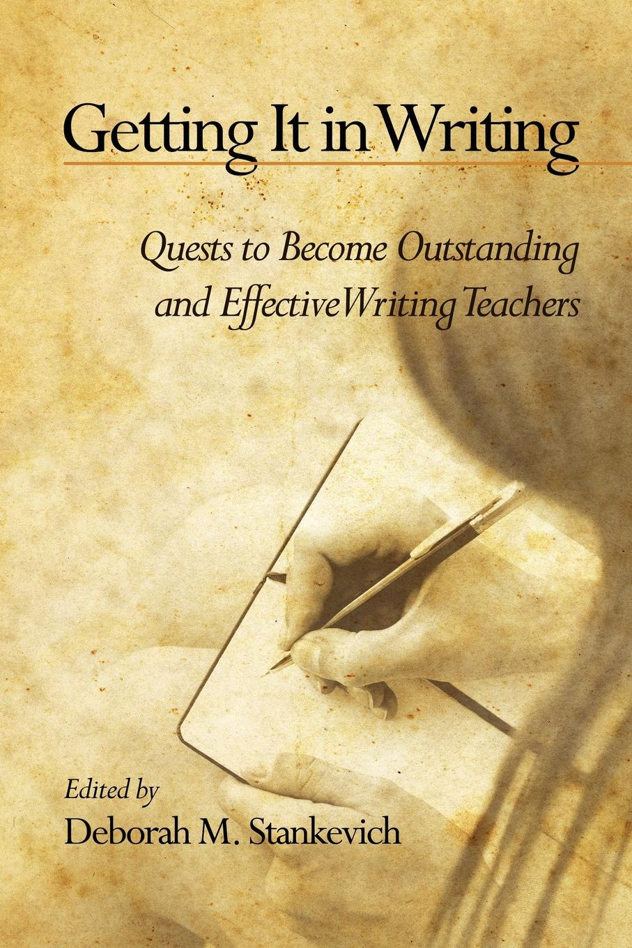 Getting It in Writing. The Quest to Become Outstanding and Effective Teachers of Writing the writing system