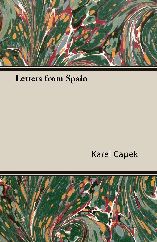 Karel Čapek Letters from Spain karel čapek kritika slov