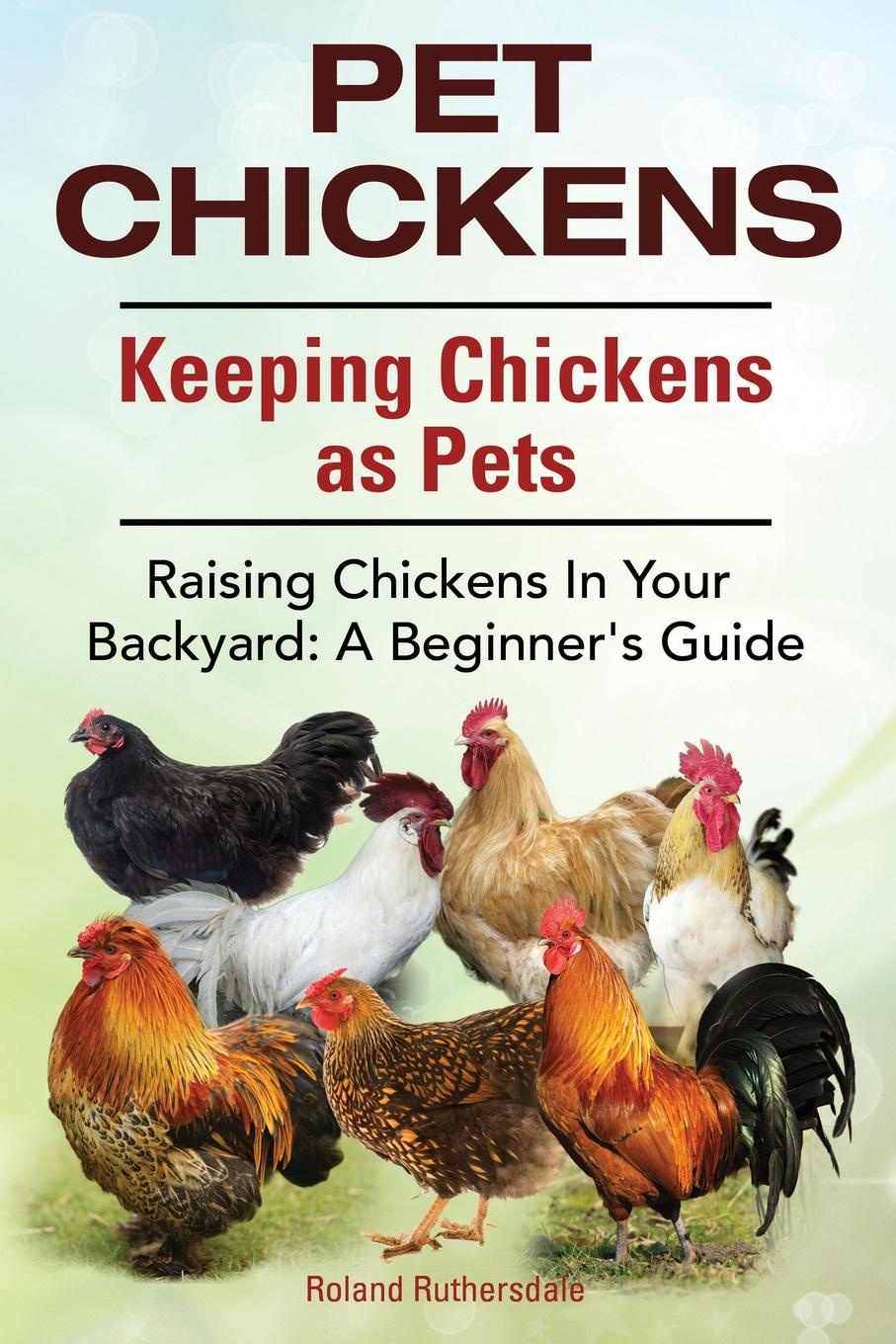 Roland Ruthersdale Pet Chickens. Keeping Chickens as Pets. Raising Chickens In Your Backyard. A Beginners Guide. pammy riggs keeping chickens for dummies