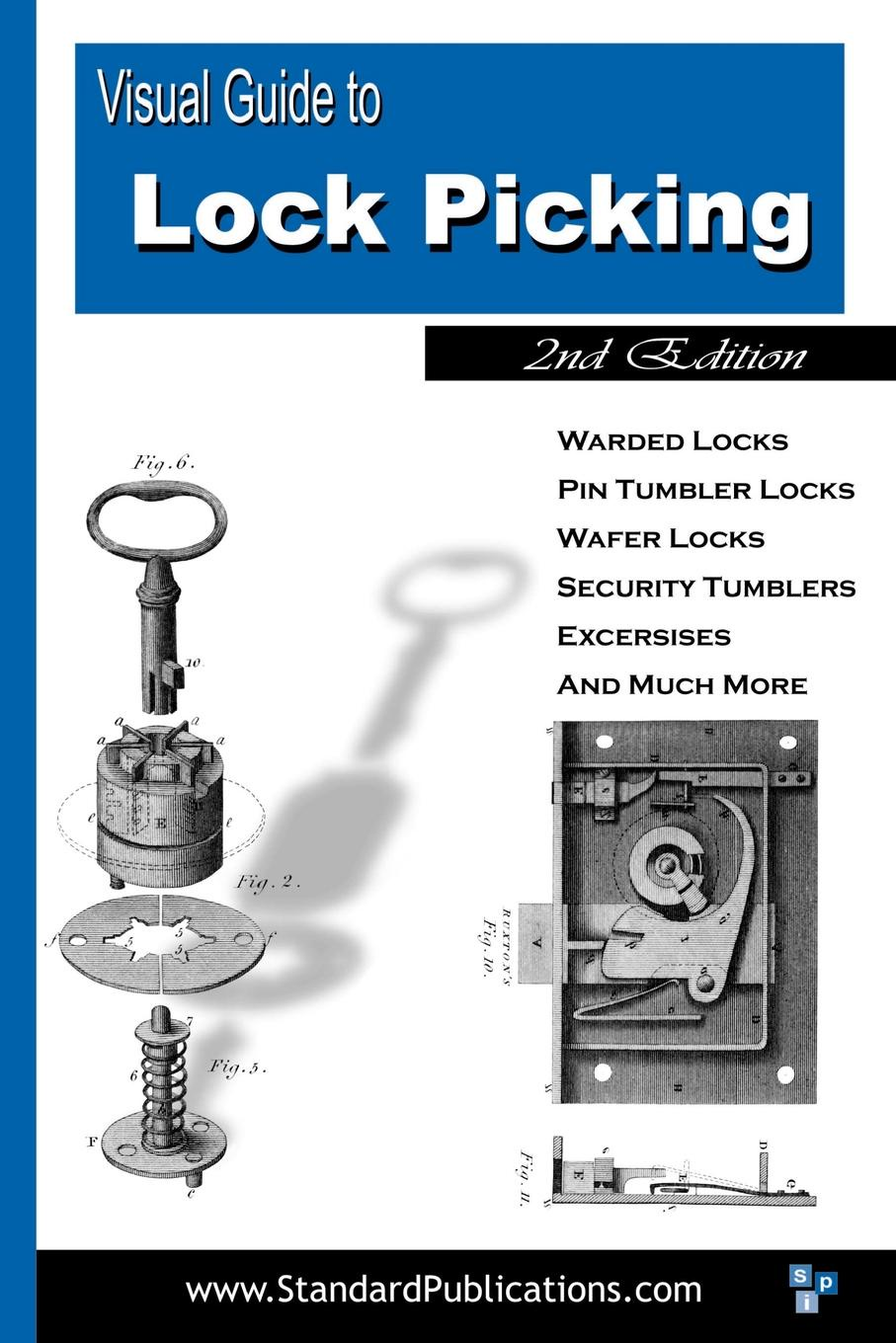 Mark McCloud Visual Guide to Lock Picking cabinet locks protection safe doors fixed to the floor 1pc
