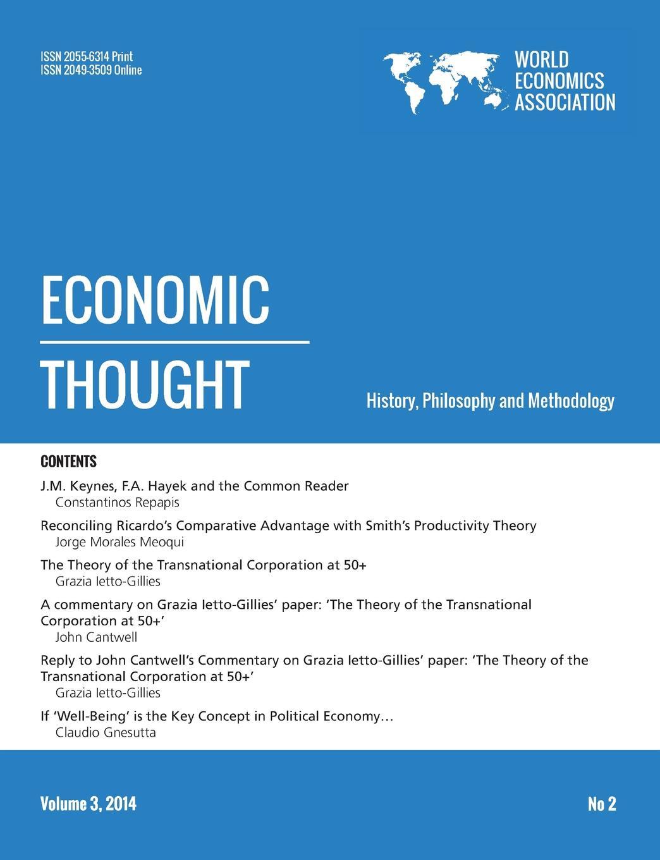 Economic Thought, Vol 3, No 2, 2014 недорго, оригинальная цена