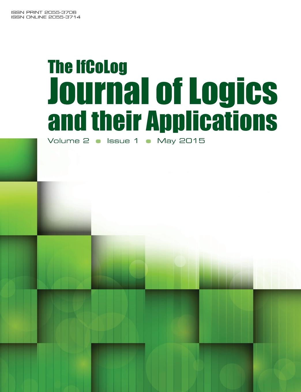 IfColog Journal of Logics and heir Applications. Volume 2, Number 1 american educational history journal volume 36 number 1 2 2009 pb