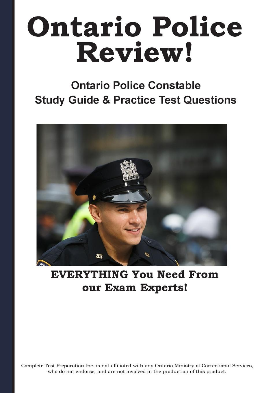 Complete Test Preparation Inc. Ontario Police Review. Complete Ontario Police Constable Study Guide and Practice Test Questions block tsop28 ucos dedicated ic zy212a burning test socket adapter