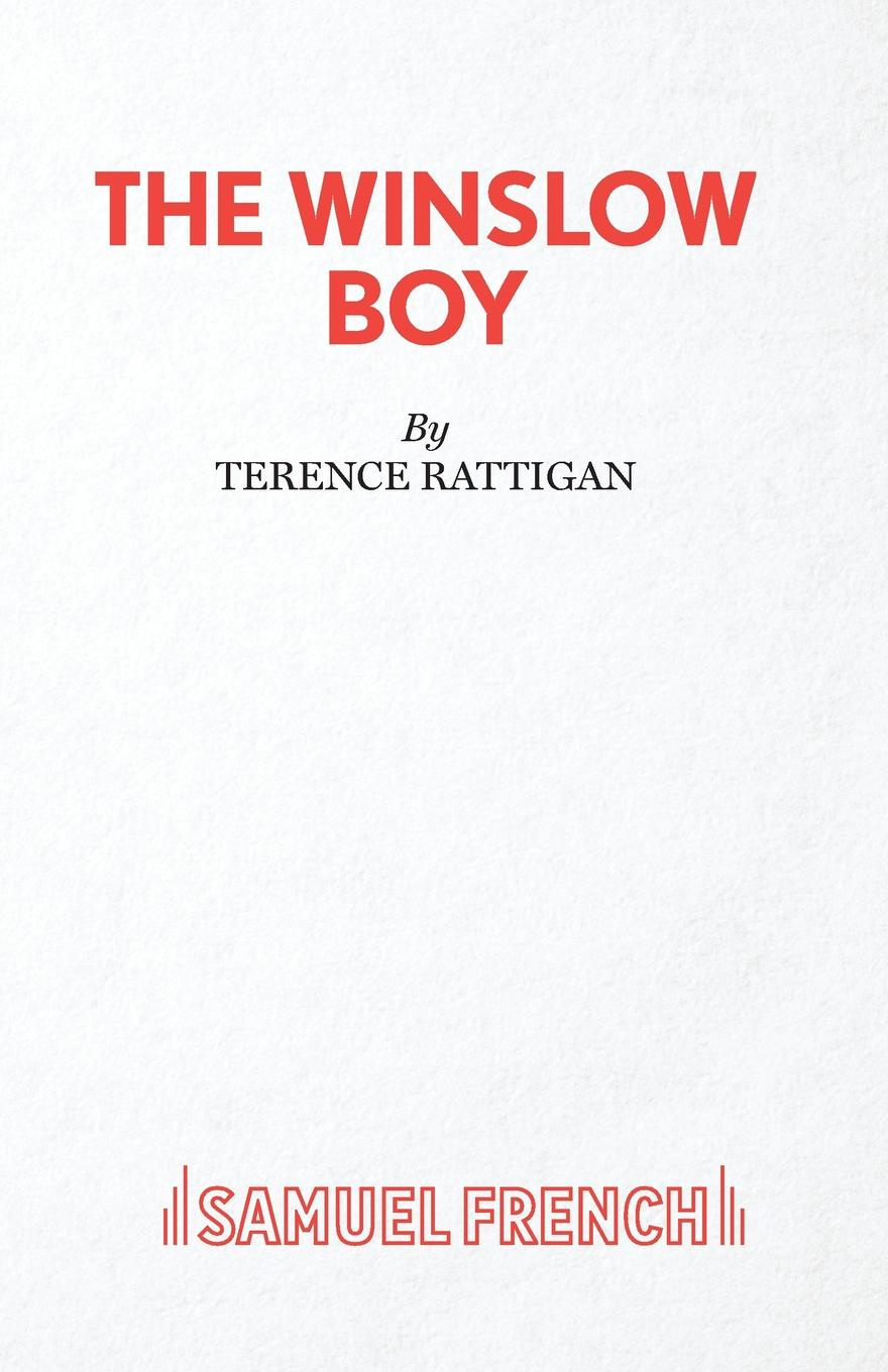 Terence Rattigan The Winslow Boy - A Play in Two Acts expelled