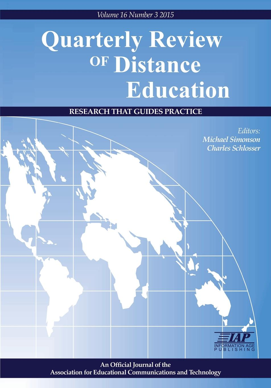 Quarterly Review of Distance Education. Volume 16, Number 3, 2015 отсутствует the foreign quarterly review vol 2 3