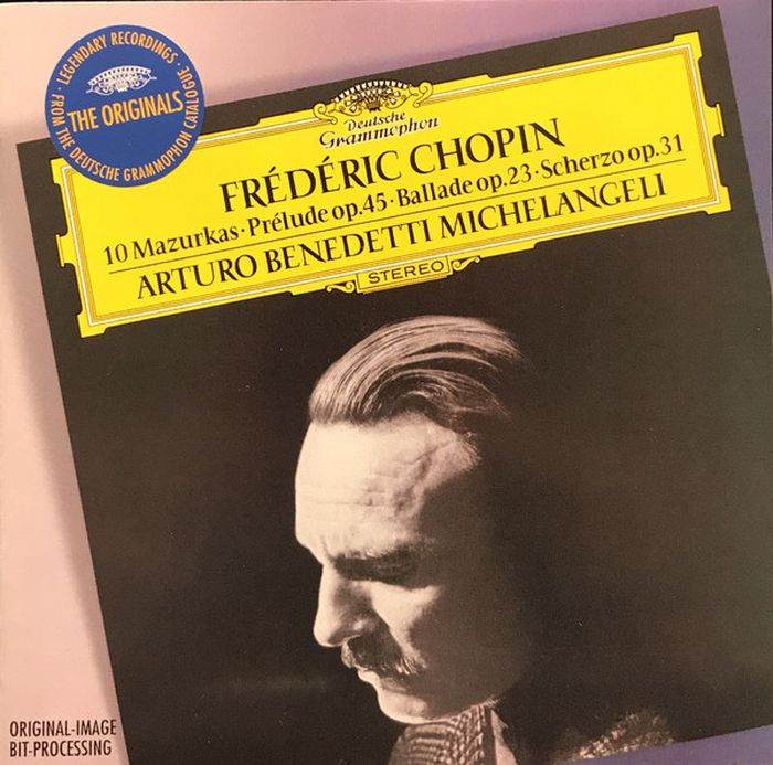 Arturo Benedetti Michelangeli. Chopin: 10 Mazurkas, Prelude Op. 45, Ballade Op. 23 цена и фото