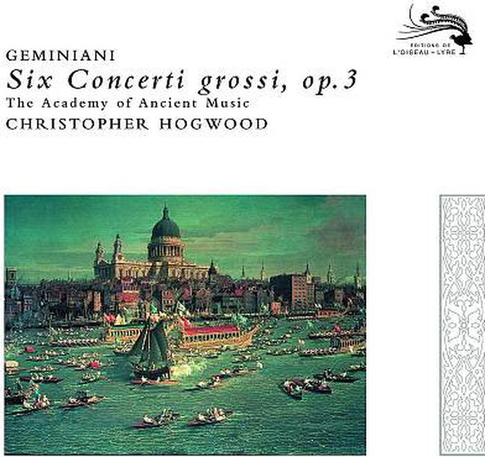 Кристофер Хогвуд,Франческо Джеминиани Christopher Hogwood, Francesco Geminiani. Six Concerti Grossi, Op.3 босоножки julia grossi julia grossi mp002xw192i9