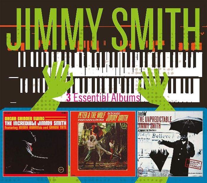 Джимми Смит Jimmy Smith. Essential Albums (3 CD)