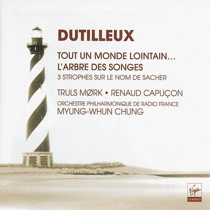 лучшая цена Truls Mork, Renaud Capucon, Myung-Whun Chung. Dutilleux: Violin & Cello Concertos Etc