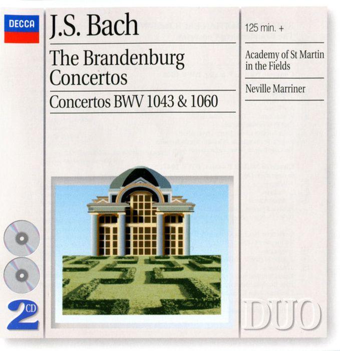 лучшая цена Academy Of St.Martin In The Fields. Bach. The Brandenburg Concertos (2 CD)