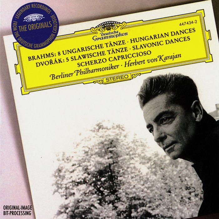 Herbert von Karajan. Brahms: Hungarian Dances/ Dvorak: Slavonic Dances herbert von karajan dvorak cello concerto tchaikovsky variations on a rococo theme