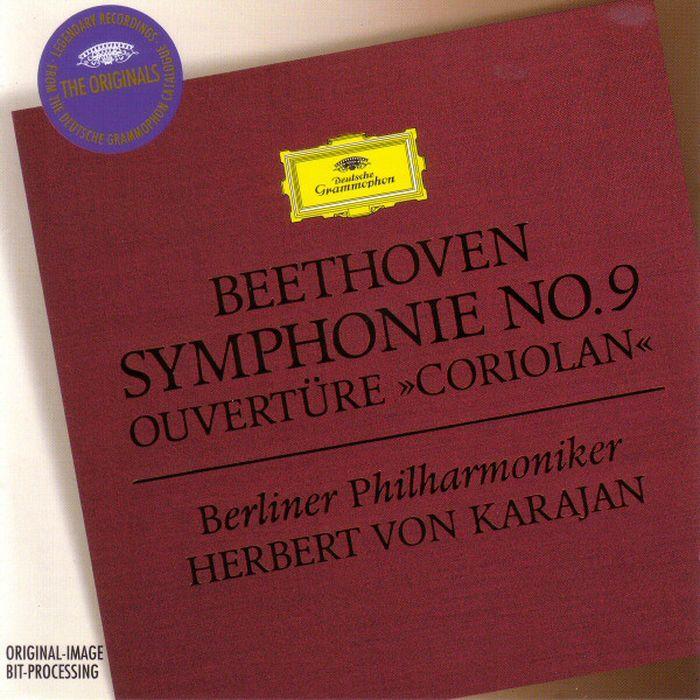 Herbert von Karajan. Beethoven: Symphony No.9; Overture herbert von karajan beethoven symphony no 9 overture