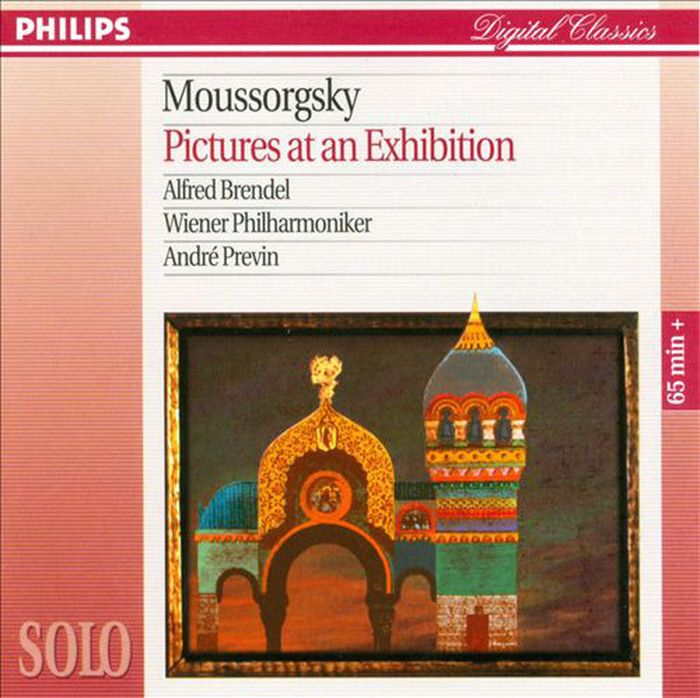 Alfred Brendel. Mussorgsky: Pictures At An Exhibition