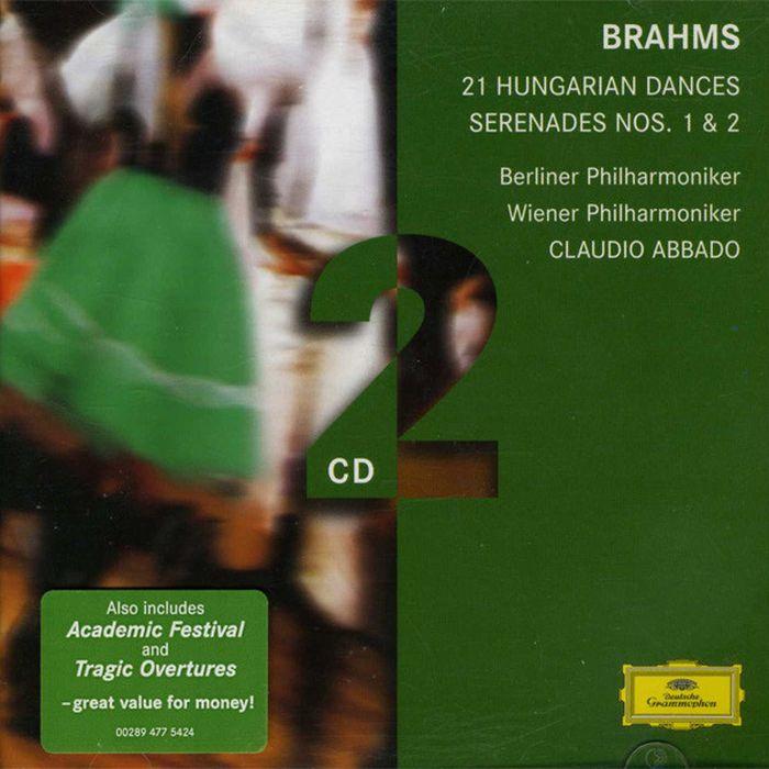 CLAUDIO ABBADO. Brahms: Serenades; Hungarian Dances hail claudio