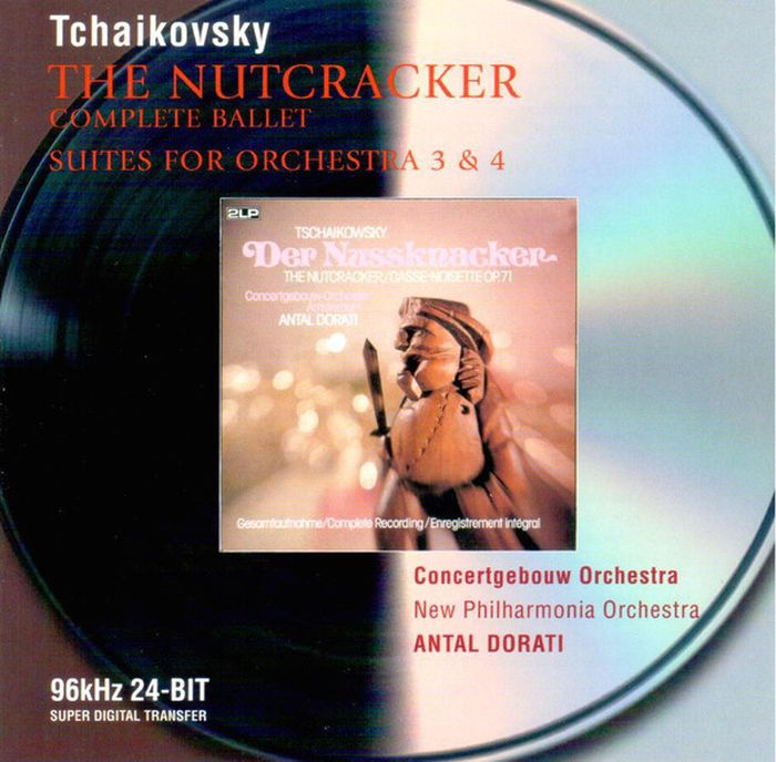 Antal Dorati. Tchaikovsky. The Nutcracker, Suites Nos. 3& 4 (2 CD) Исполнитель: COA/NPO/DАльбом...