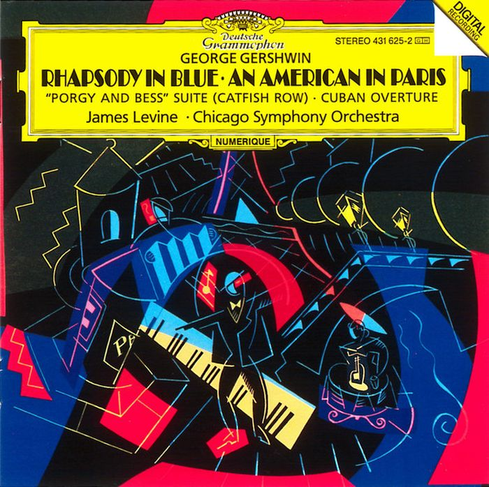 James Levine. Gershwin: Rhapsody In Blue; An American In Paris george gershwin gershwin on air 2cd